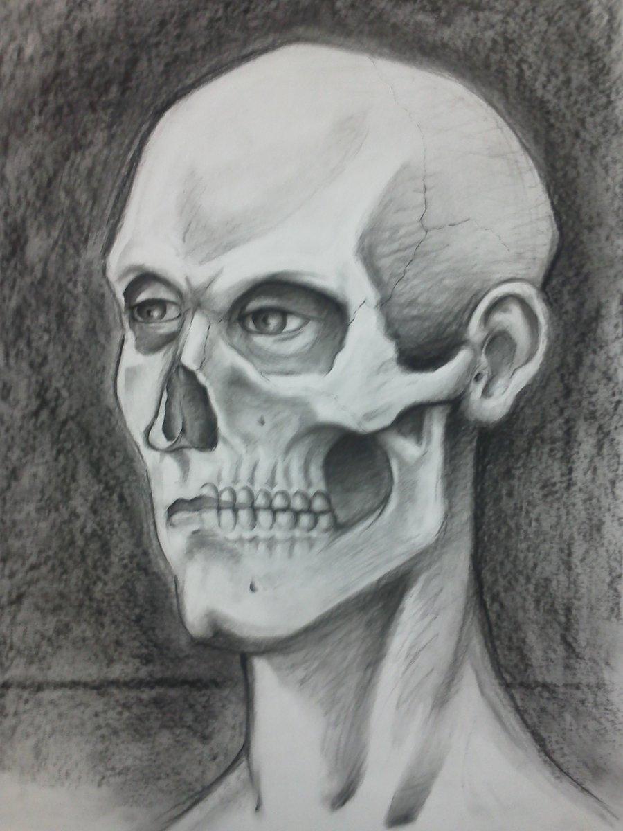 Drawn sleleton traditional By CHANT  CHANT J