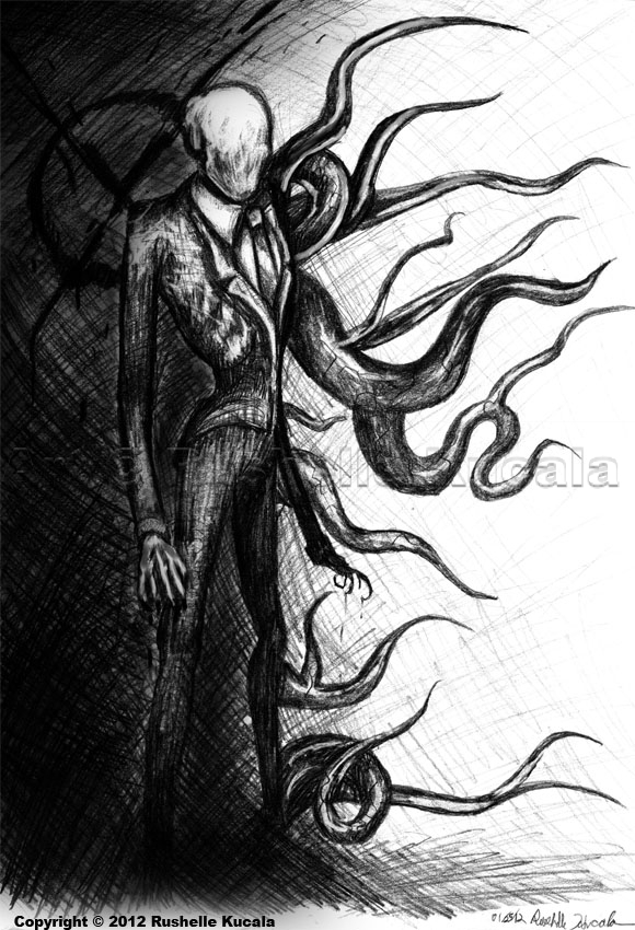 Drawn slenderman creepy Deviantart by deviantart == Man