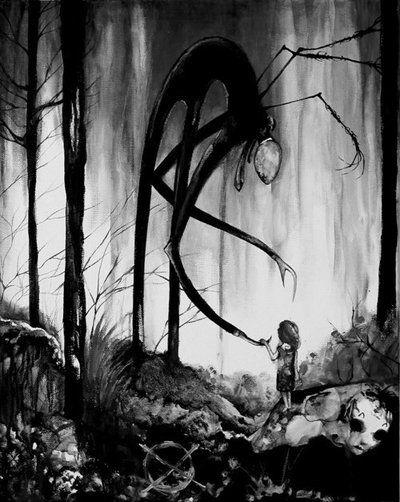 Drawn slenderman alien Invadertweak man man Slender by