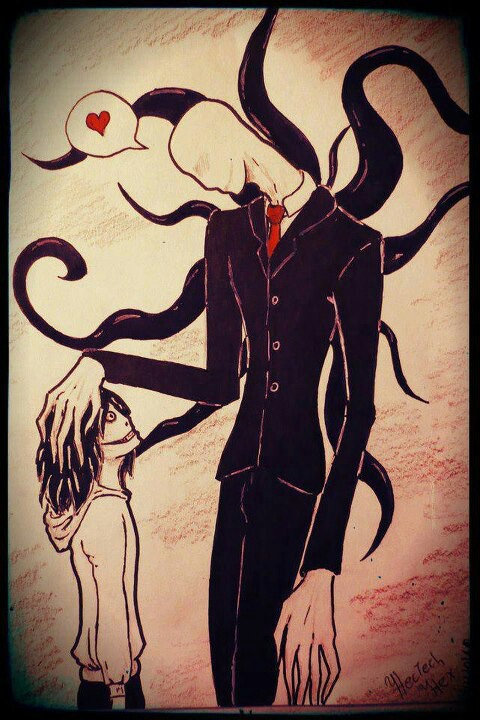 Drawn slender man awesome The killer Pinterest go ♥