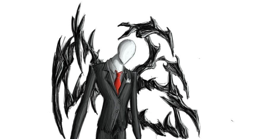 Drawn slender man cartoon Man DeviantArt: Nightmare town DeviantArt: