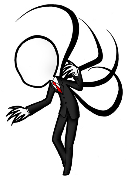 Slenderman clipart skinny person DeviantArt Chibi Slenderman HavenRelis HavenRelis