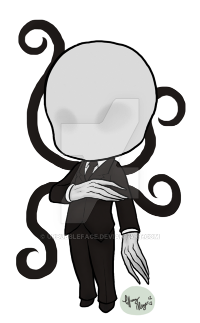 Slenderman clipart skinny person Tentacle UrBubbleFace UrBubbleFace by by