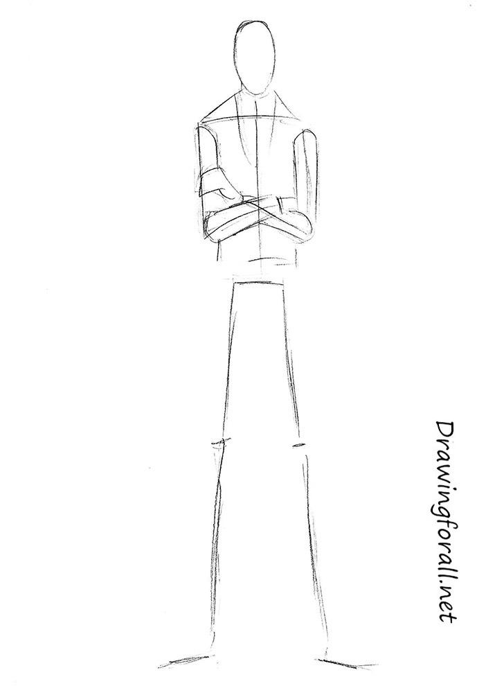Drawn slenderman couple sketch Net Slenderman to a pencil