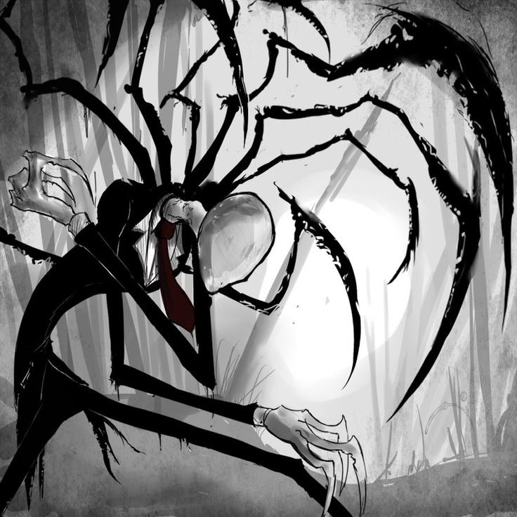 Drawn slenderman creepy Images best 32 Slenderman Pinterest