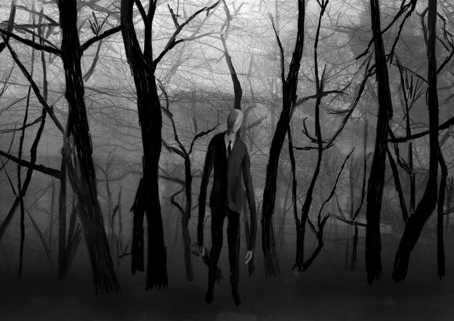 Drawn slenderman creepy From from drawing FANDOM alex663