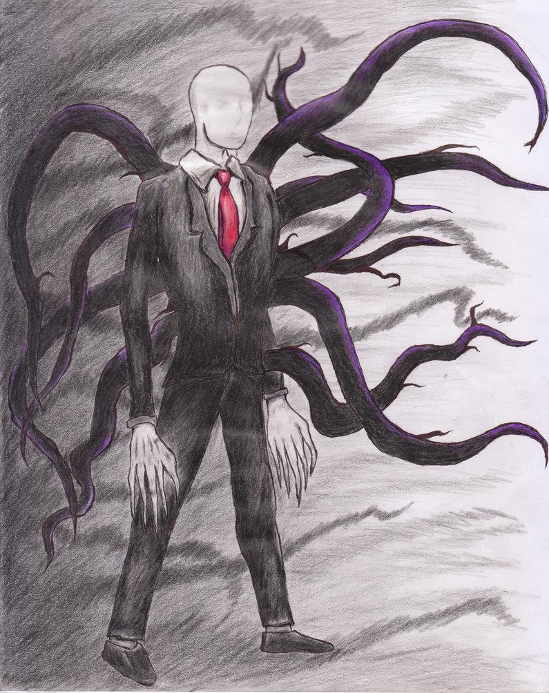 Drawn slenderman deviantart Man The by Slender DeviantArt