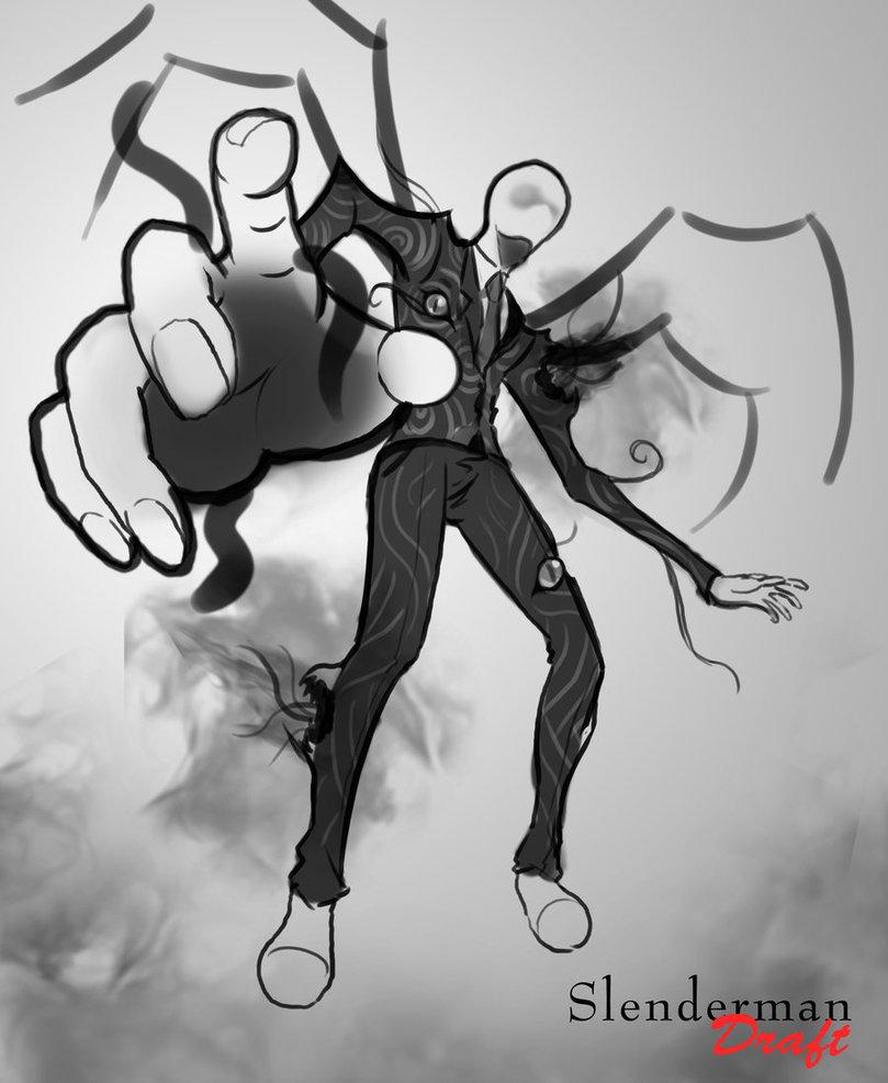 Drawn slender man deviantart KickTyan [Draft] Slenderman [Draft] Slenderman