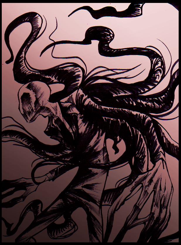Drawn slender man deviantart By Slenderman Slenderman DeviantArt in