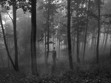 Drawn slender man hidden Slender by Man DeviantArt on