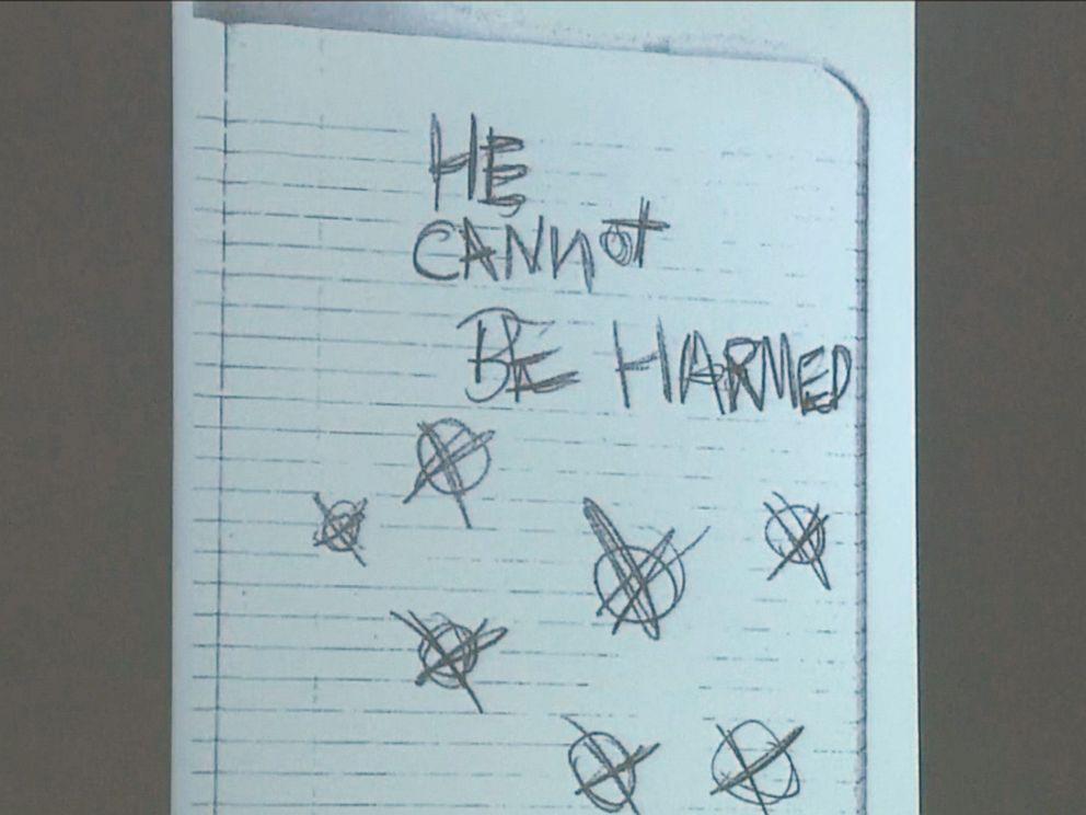 Drawn slender man hidden Disturbing News) Photos Case Stabbing