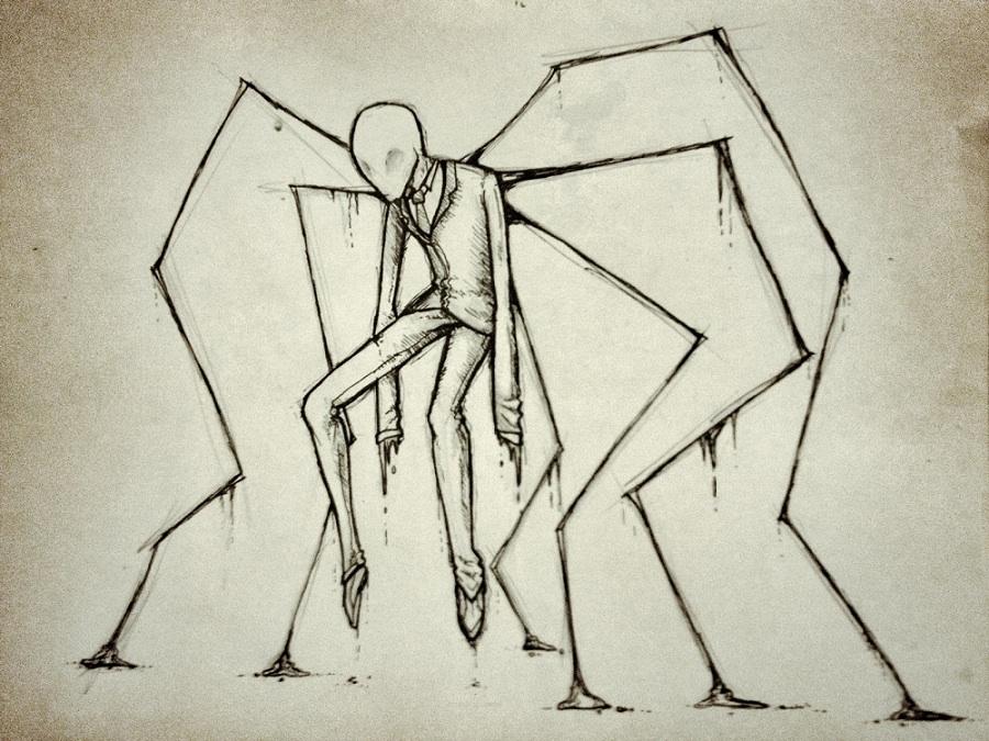 Drawn slender man hidden Pinterest Slenderman Best SLENDERMAN ideas