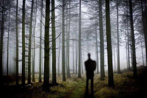 Drawn slender man landscape A to  images Man