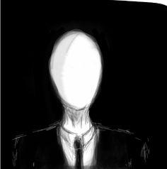 Drawn slender man the game Man SLNEDY Man Slender Slender