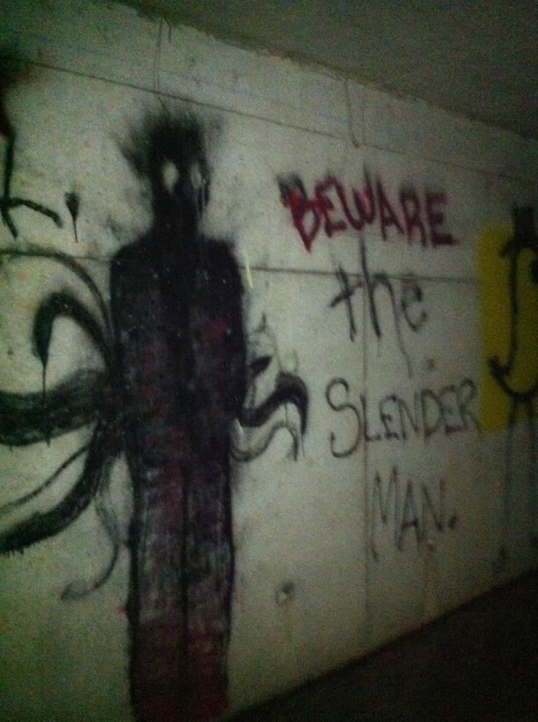 Drawn slender man the game Man morbid things Beware All