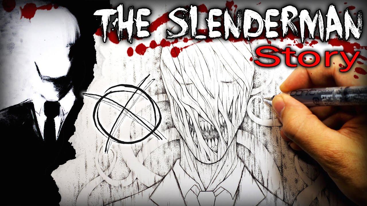 Drawn slenderman creepy (Slenderman)  Forget Cannot Drawing