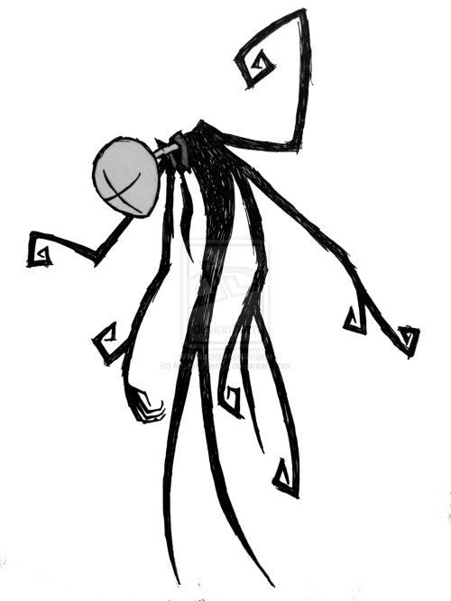 Drawn slenderman transparent The ~MoriahKristine Man Slender Man