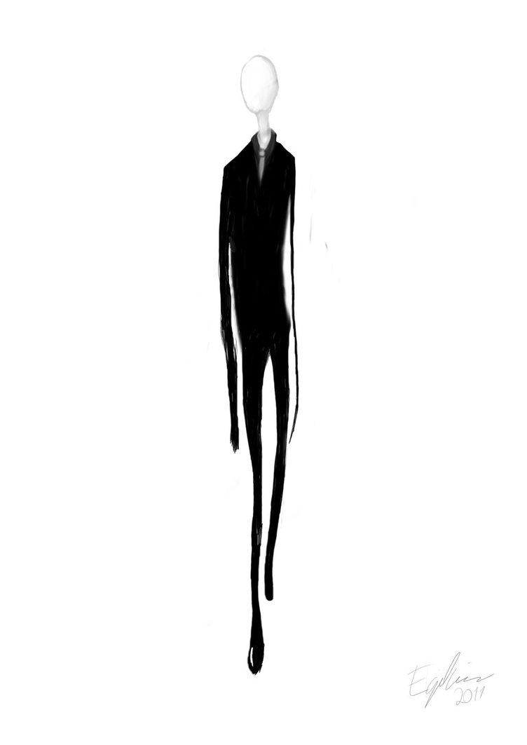 Drawn slenderman transparent Man Slender by DeviantArt Man