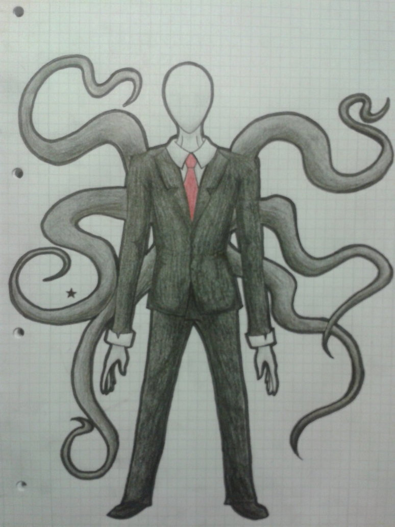 Drawn slenderman Mah me of 3 It