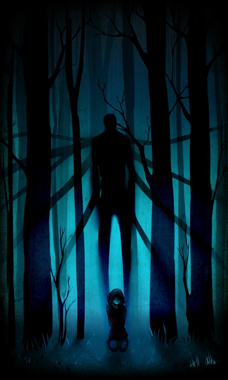 Drawn slenderman alien #Slender men #Slender com #Creepy
