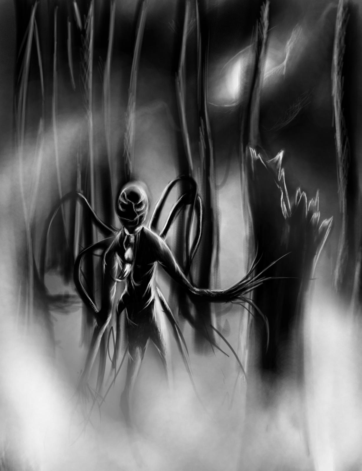 Drawn slenderman alien Man men Man com/ #Sighting