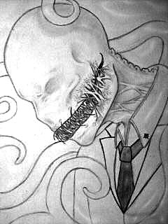 Drawn slenderman awesome Slenderman WIP ScarletSatori WIP ScarletSatori