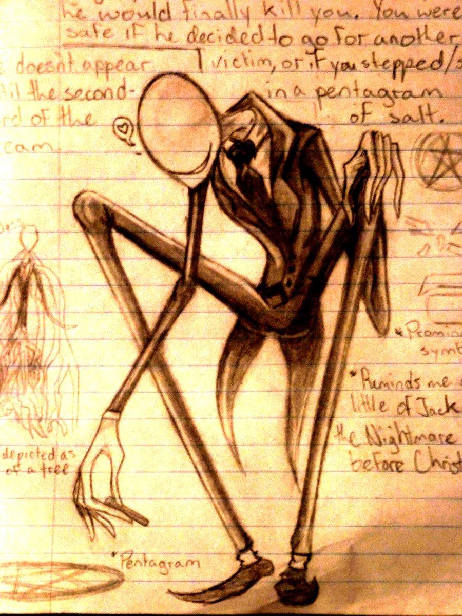 Drawn slenderman awesome DeviantArt by by Slenderman EnshroudedVixen