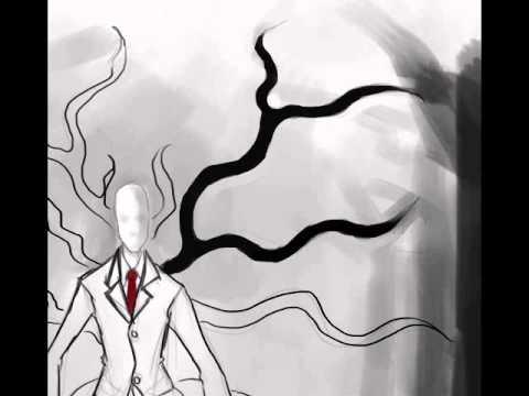 Drawn slenderman christmas How YouTube slender to man