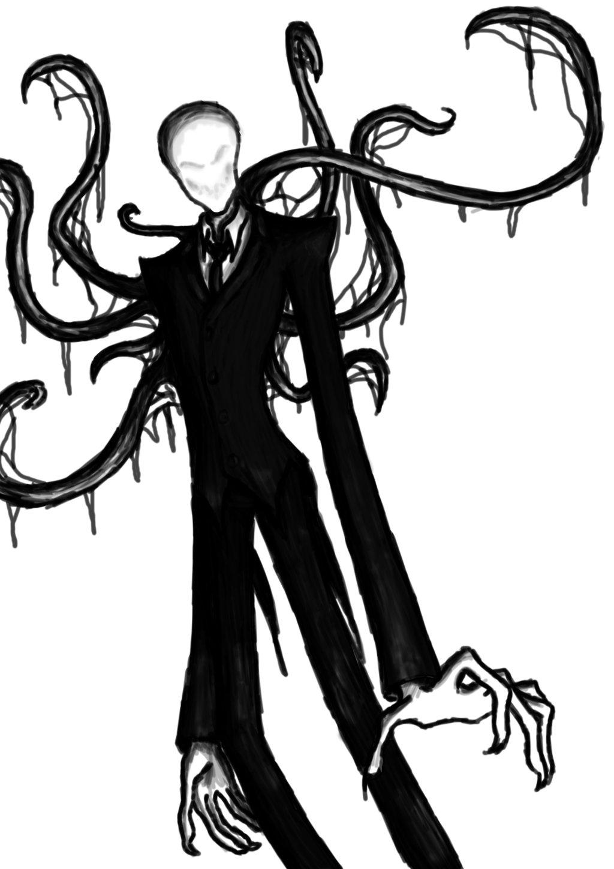 Drawn slenderman easy 18> drawing 18> creepypasta Images