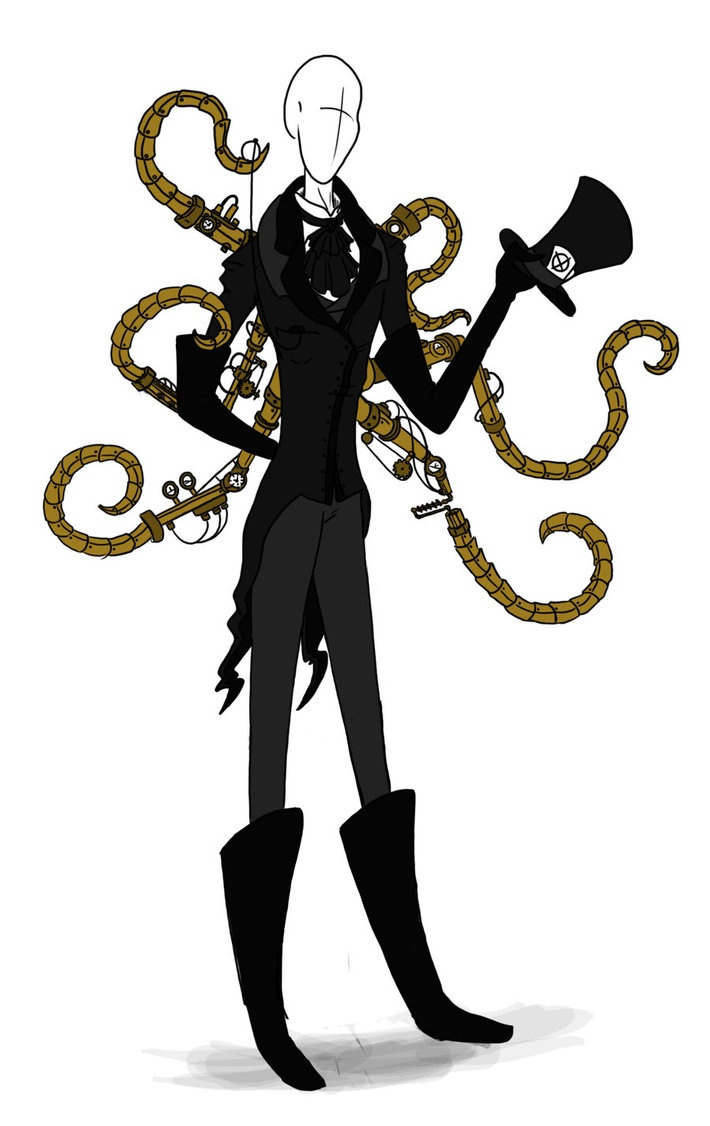 Slender clipart body weight About best Steampunk on Slenderman