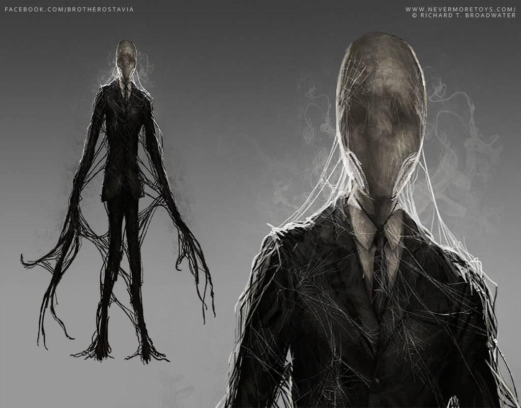 Drawn slenderman the game Toys Art Slenderman Slenderman on