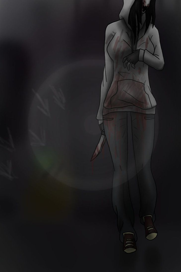 Drawn slenderman the game Chaser: images about Kate by: