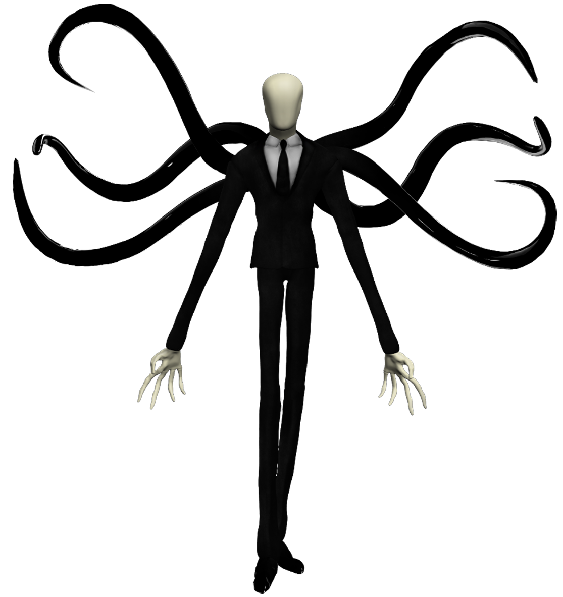 Drawn slender man cartoon Slender Slender png slender_man man