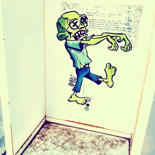 Drawn sloth graffito Graffiti Art Posts graffiti Pinterest