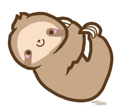 Drawn sloth kawaii Transparent 48 cliparts Sloth tumblr