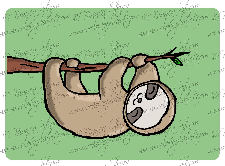 Drawn sloth kawaii 00 Sloth ReLove $3 Plan