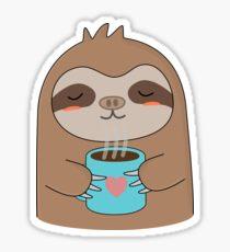 Drawn sloth kawaii Cute Drawing: Stickers T Coffee