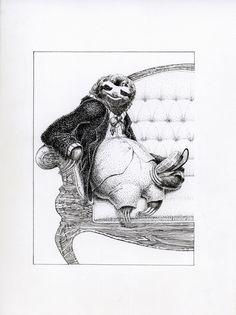 Drawn sloth president Animalia and Pinterest Sloth Sloth