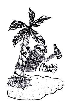 Drawn sloth president President Sloths Google Search Sloth