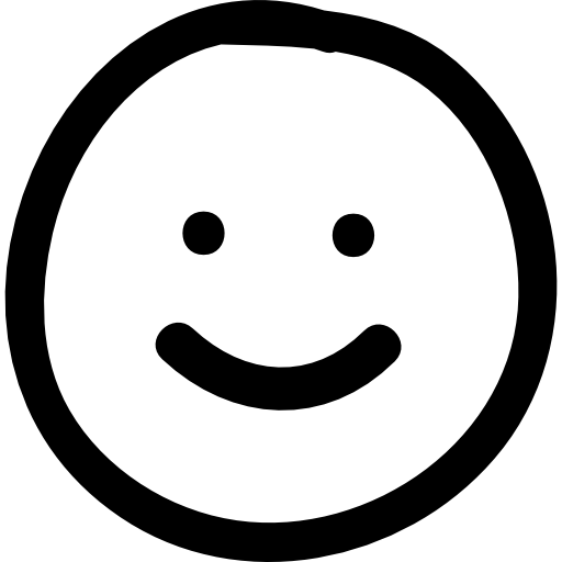 Drawn smile Emoticon Smile hand drawn drawn