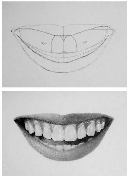 Drawn smile Best 7 to steps Pinterest