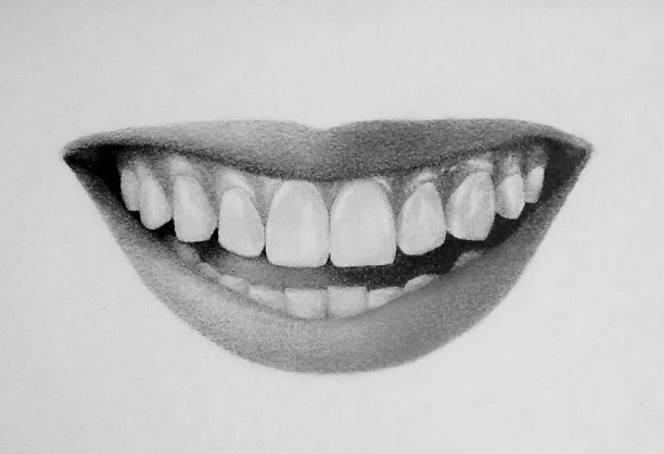 Drawn photos mouth Draw 7 how – and