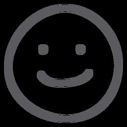 Drawn smile emotion PNG vector Transparent & emoji