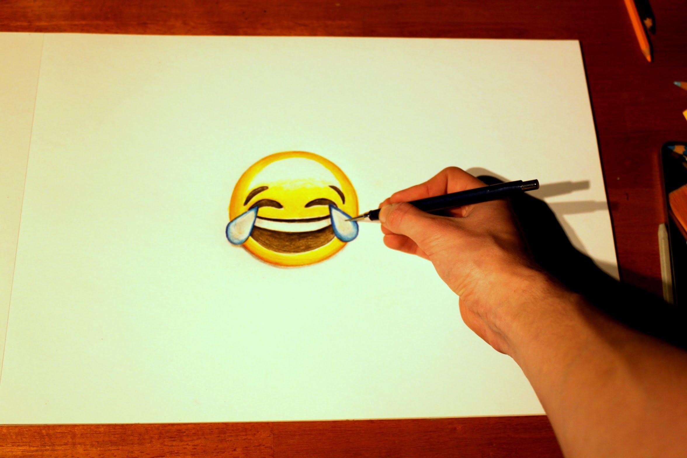 Drawn smile emotion YouTube emoticon to draw Emoji's: