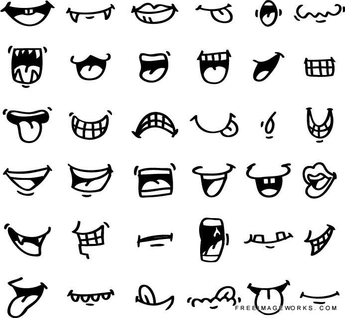 Drawn smile funny Cartoon icon clip cartoon 25+