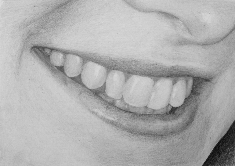 Drawn smile lip The draw Drawing Learn Easy