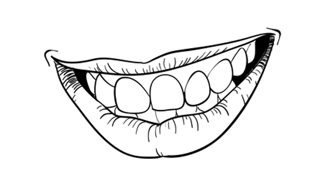 Drawn smile lip Draw Sketchbook Mouth 22 Challenge