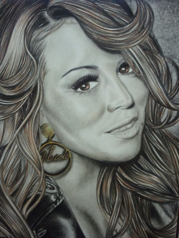 Drawn smile mariah carey Drawing FAN Pinterest on images