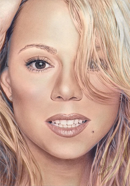 Drawn smile mariah carey Color & DeviantArt on by