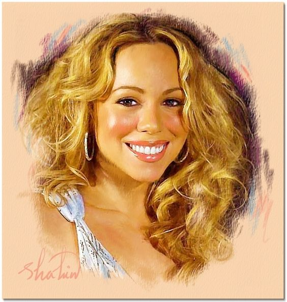 Drawn smile mariah carey By of • Mariah Pinterest